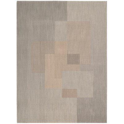 Loom Select Gray Area Rug Rug Size: 56 x 75