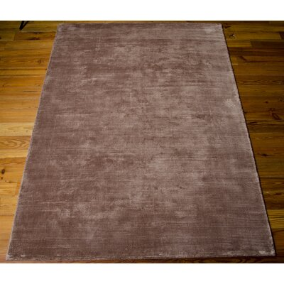 Lunar Handmade Luminescent Rib Foal Area Rug Rug Size: Rectangle 56 x 75