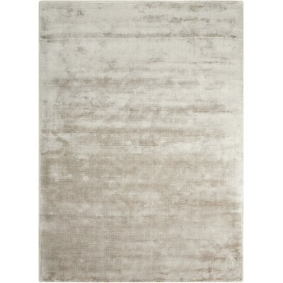 Lunar Hand-Loomed Gray Area Rug Rug Size: Rectangle 56 x 75