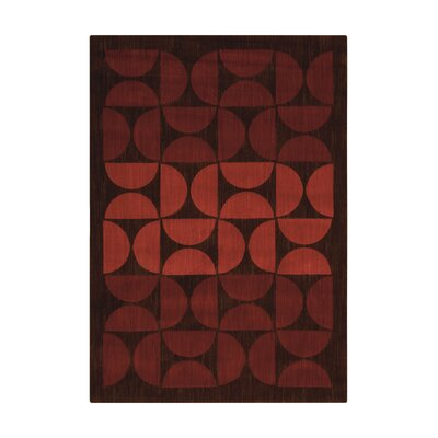 Metropolitan Antwerp Russet Area Rug Rug Size: Rectangle 36 x 56
