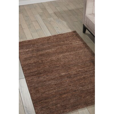 Mesa Calvn Klein Home Hand-Woven Amber Area Rug Rug Size: Rectangle 56 x 75