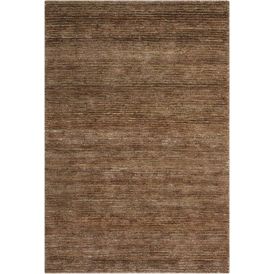 Mesa Calvn Klein Home Hand-Woven Fossil Area Rug Rug Size: Rectangle 56 x 75