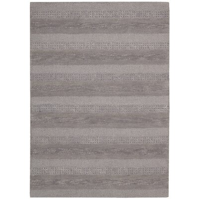 Sequoia Handmade Smoke Area Rug Rug Size: Rectangle 36 x 56