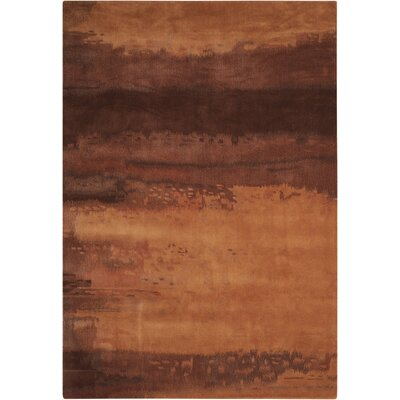 Luster Wash Copper Area Rug Rug Size: 16 x 23