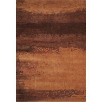 Luster Wash Copper Area Rug Rug Size: 1'6