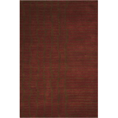 Luster Wash Everglade Brick Area Rug Rug Size: Rectangle 83 x 11