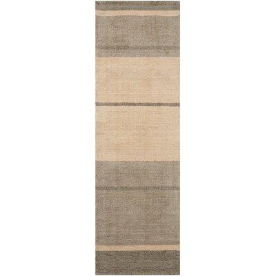 Tundra Handmade Earth Area Rug Rug Size: Runner 23 x 76