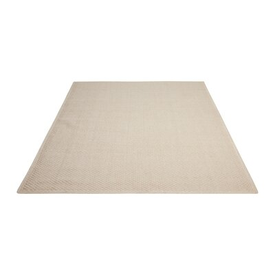 Shetland Hand-Woven Oyster Area Rug Rug Size: Rectangle 4 x 6