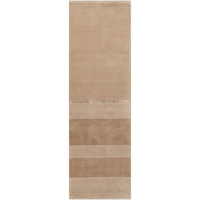 Vale Hand-Loomed Portland Sandwash Area Rug Rug Size: Runner 23 x 76