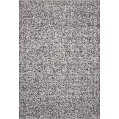 Tobiano Hand-Loomed Carbon Area Rug Rug Size: Rectangle 4 x 6