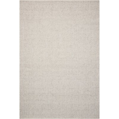 Tobiano Hand-Loomed Sand Area Rug Rug Size: Rectangle 53 x 75