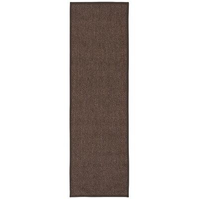 Kerala Java Charcoal Area Rug Rug Size: 2 x 5