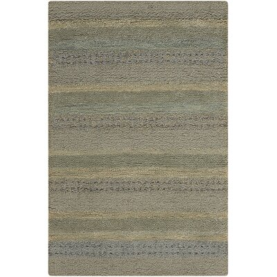 Sequoia Handmade Meadow/Gray Area Rug Rug Size: Rectangle 26 x 4