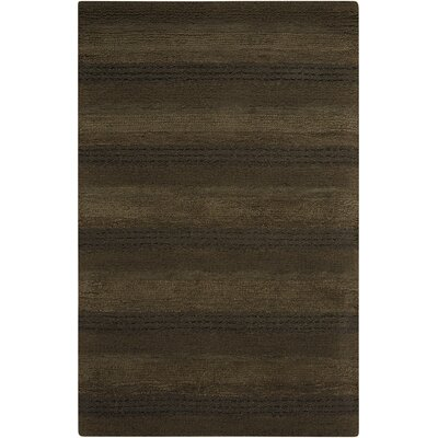 Sequoia Handmade Pine Green Area Rug Rug Size: Rectangle 36 x 56