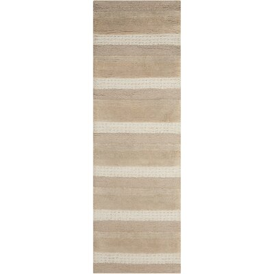 Sequoia Handmade Sand Area Rug Rug Size: Runner 23 x 76