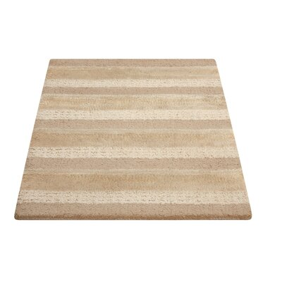 Sequoia Handmade Sand Area Rug Rug Size: Rectangle 26 x 4