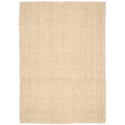 Mangrove Hand-Woven Husk Area Rug Rug Size: Rectangle 53 x 75