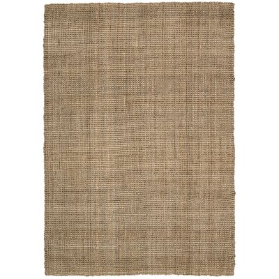 Mangrove Hand-Woven Saltwood Area Rug Rug Size: Rectangle 53 x 75