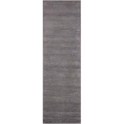Calvin Klein Ravine Furrow Handmade Dusk Area Rug Rug Size: Runner 23 x 76