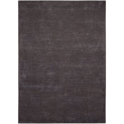 Calvin Klein Ravine Furrow Handmade Night Shade Area Rug Rug Size: Rectangle 4 x 6