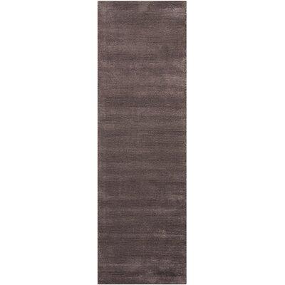 Calvin Klein Ravine Furrow Handmade Night Shade Area Rug Rug Size: Runner 23 x 76