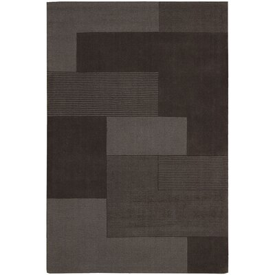 Bowery Hand-Woven Grid Aster Area Rug Rug Size: 53 x 75