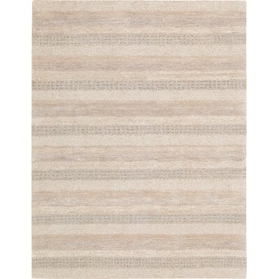 Sequoia Hand-Woven Ash Area Rug Rug Size: Rectangle 53 x 75