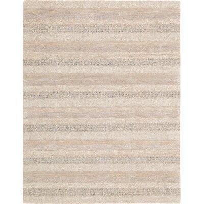 Sequoia Hand-Woven Ash Area Rug Rug Size: 53 x 75