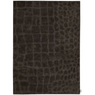 Canyon Hand-Woven Marsh Peat Area Rug Rug Size: Rectangle 53 x 75