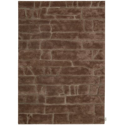Canyon Hand-Woven Brown Area Rug Rug Size: 79 x 1010