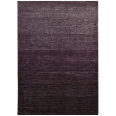 Haze Smoke Elderberry Area Rug Rug Size: 36 x 56