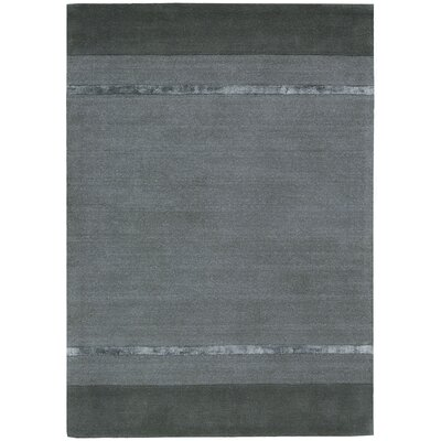 Vale Hand-Woven Tacoma Graphite Area Rug Rug Size: Rectangle 79 x 1010