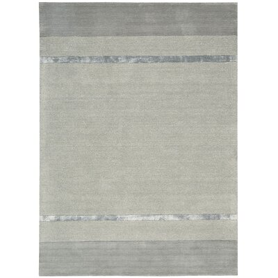 Vale Hand-Woven Tacoma Zinc Area Rug Rug Size: Rectangle 53 x 75