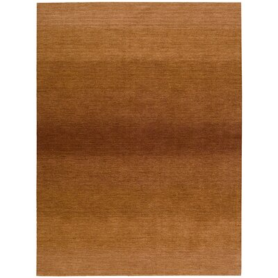 Linear Glow Hand-Woven Watercolor Cumin Area Rug Rug Size: Runner 23 x 76