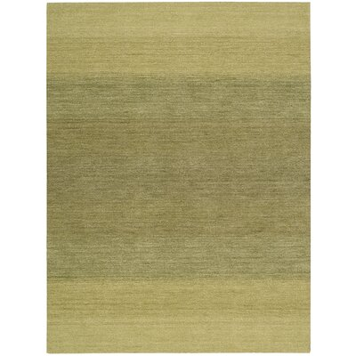 Linear Glow Hand-Woven Watercolor Verbena Area Rug Rug Size: Rectangle 53 x 75