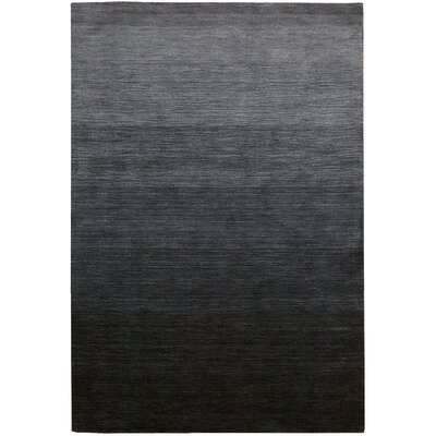 Lunar Hand-Woven Smoke Indigo Area Rug Rug Size: Rectangle 36 x 56