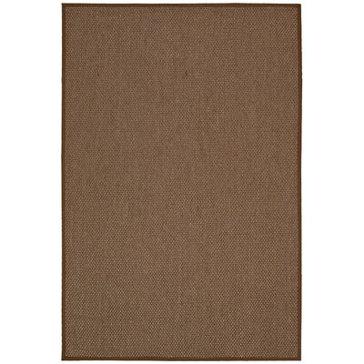 Kerala Java Chocolate Area Rug Rug Size: Rectangle 8 x 10