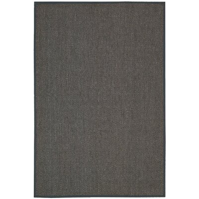 Kerala Hand Woven Java Charcoal Area Rug Rug Size: Rectangle 10 x 14