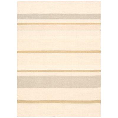 Plateau Desert Stripe Sandwash Area Rug Rug Size: Rectangle 53 x 75