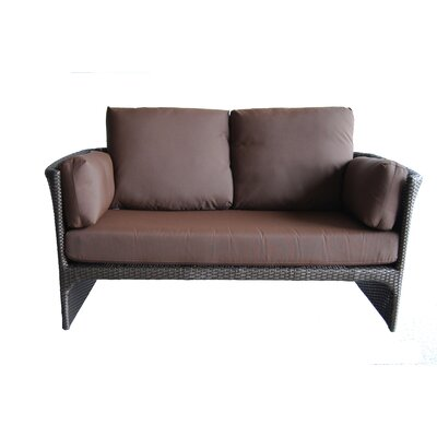 Cerise Loveseat with Cushions