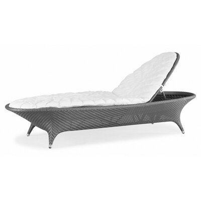 Flora Chaise Lounge with Cushions