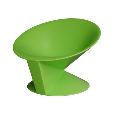 Cone Chair Upholstery: Green