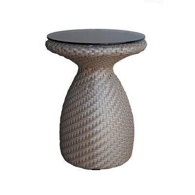 Circle Side Table Color: Khaki