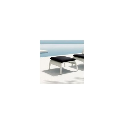 South Foot Stool with Cushion Finish: White