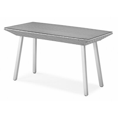 Dreamy Dining Table Table Size: 31.5 W x 59.05 D, Finish: Grey