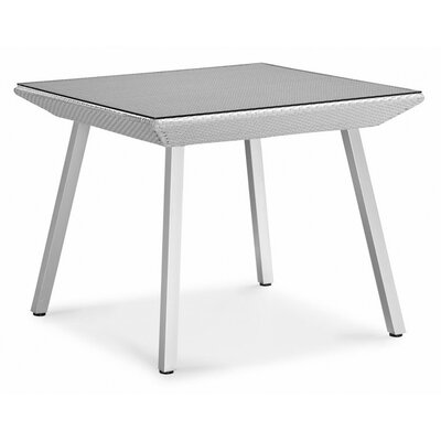 Dreamy Dining Table Table Size: 47.24 W x 47.24 D, Finish: Grey