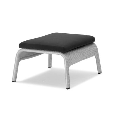 South Foot Stool with Cushion Finish: Grey