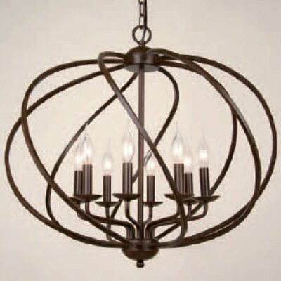 8-Light Globe Pendant