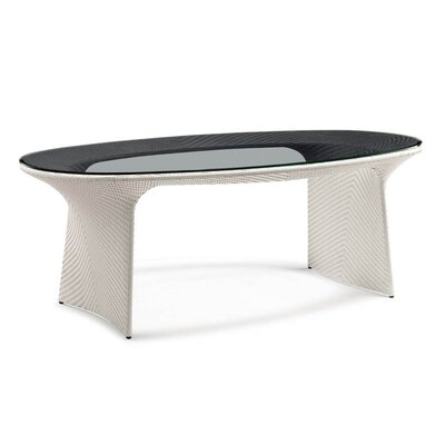 Exotica Dining Table Finish: White