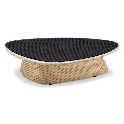 Circle Coffee Table Finish: Black